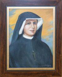 Obraz - św. Faustyna - Płock - Księgarnia Diecezjalna