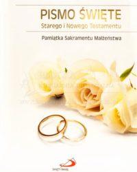 Księgarnia diecezja płocka - Pismo Święte na ślub