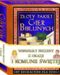 Księgarnia Diecezjalna Płock - Złoty pakiet gier biblijnych