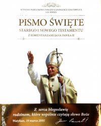 Księgarnia diecezja płocka - Pismo Święte z komentarzami Jana Pawła II